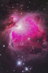 オリオン大星雲 《段階露光版》