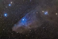 青い馬星雲 《再処理》