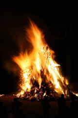 龍野のとんど焼き ③