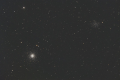 球状星団と散開星団