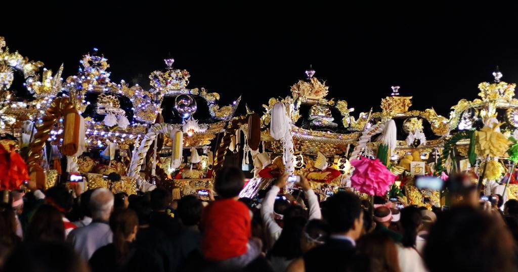姫路の祭り クライマックス ③