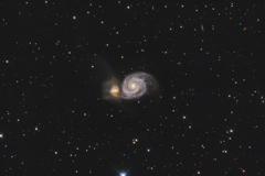 M51 子持ち銀河 《APS-C》