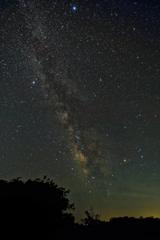 満天の星 そして天の川