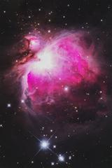 玄関開けたらオリオン大星雲 2020