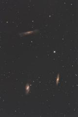 また撮ってしまった ③ 《三つ子銀河》