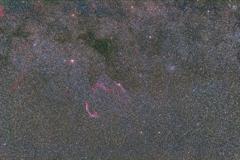 85mmで網状星雲