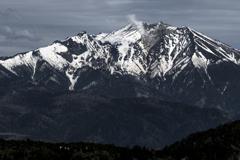 残雪の御岳