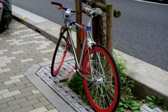 カラフルな自転車