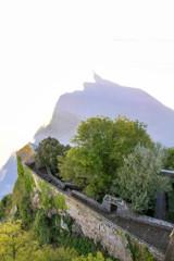 Monastery silhouette