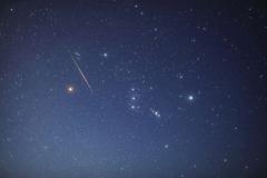 ペルセウス座流星群とオリオン座