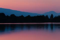 暁の田貫湖