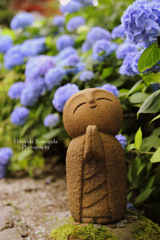 Jizo that calls happiness...