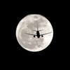 full moon flight