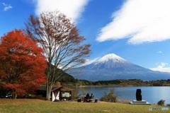 富士を観る