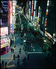TOHOシネマズ新宿から