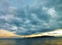 雲行きと海の相性