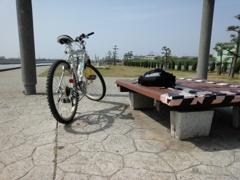 今日のサイクリング♪