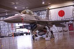 三沢基地の米空軍のF-16ファイティングファルコン