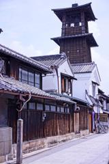 川越の小江戸の町のシンボル・・時の鐘