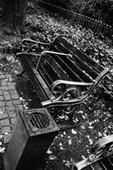 ちょっと哀愁のベンチ・・