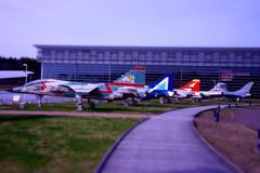 三沢基地隣にある三沢航空科学館・・