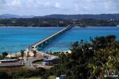 本島と古宇利島を結ぶ橋