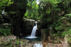 白龍の住む滝 2