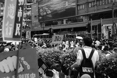 'No to China extradition'