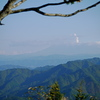 飛騨山脈を望む 一