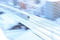 東京の雪景色
