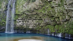 雄川の滝 全景