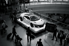 HONDA NSX  At Haneda Airport