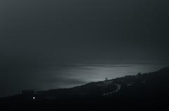月夜に浮かぶ