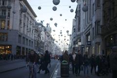12月の街並み
