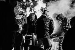 メラメラと燃える闘志