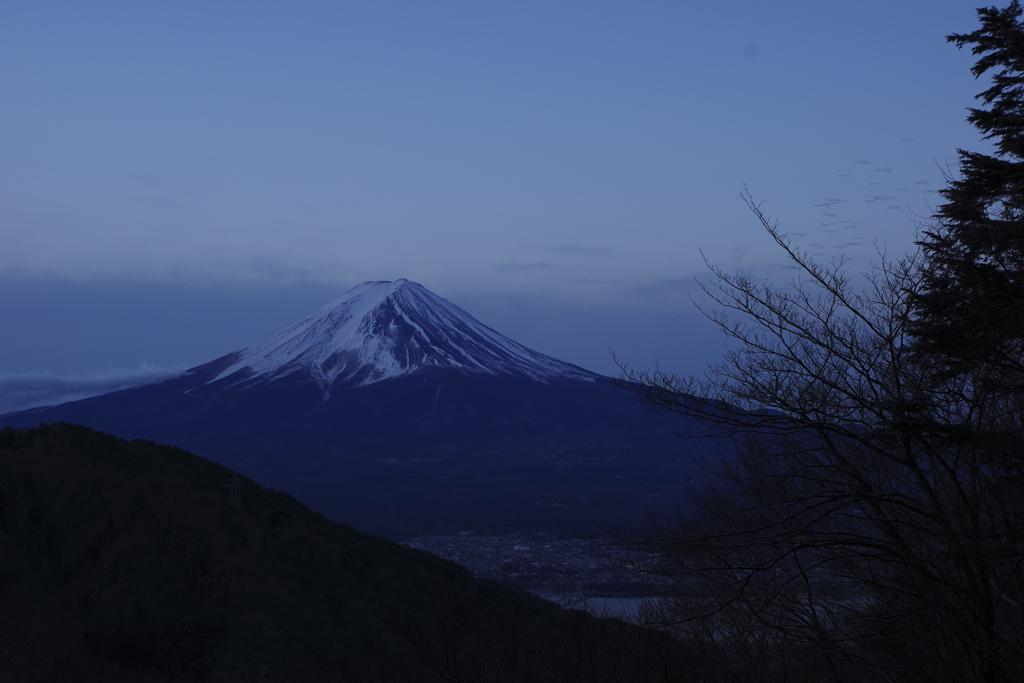 目覚めた富士山02