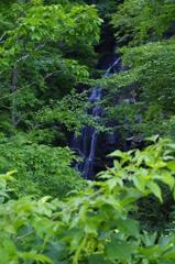 吾妻山 不動の滝