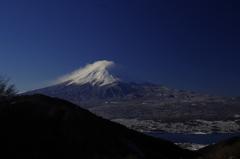 御坂峠からの富士