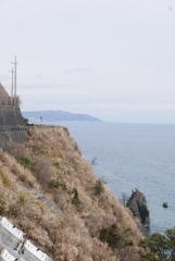浜当目トンネル 静岡側旧道分岐4