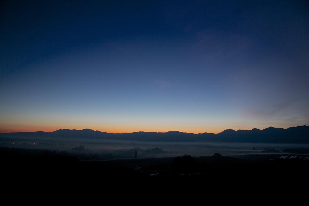 夜明けのドーム