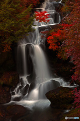 紅い竜頭の滝