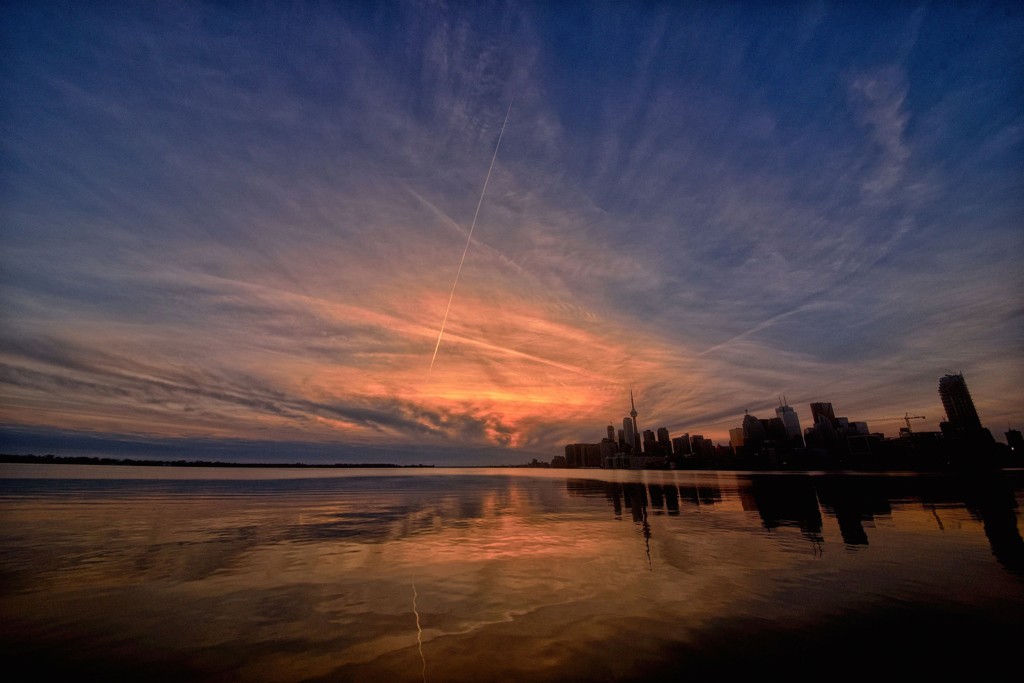 Silhouette of Toronto