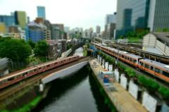 miniature station -OCHANOMIZU-