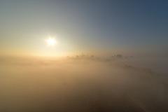 A Foggy Sunday Morning