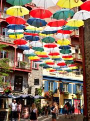 傘の路地裏