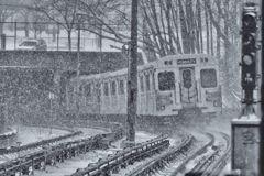 Winter Subway