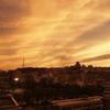 鹿児島市の夕焼け
