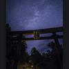 秋葉神社の夜
