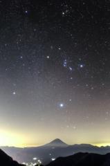 Winter constellations(High-sensitivity)