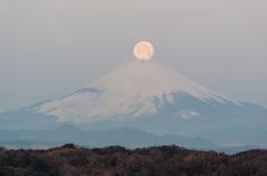 鎌倉からのパール富士